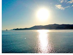 20131114早朝の南三陸湾