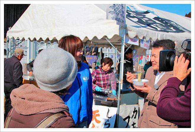 20140225南三陸春つげ牡蠣祭り福興市レポート