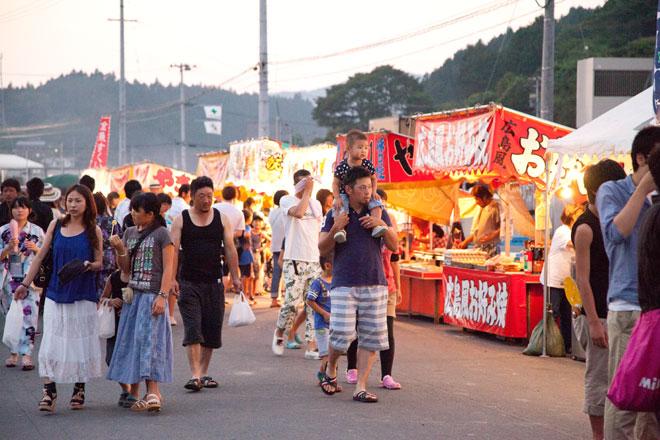 南三陸夏まつり福興市