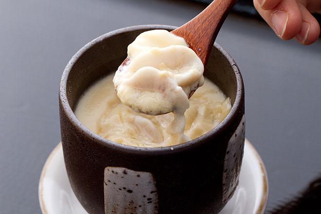 【レシピ】鱈の白子の茶碗蒸し