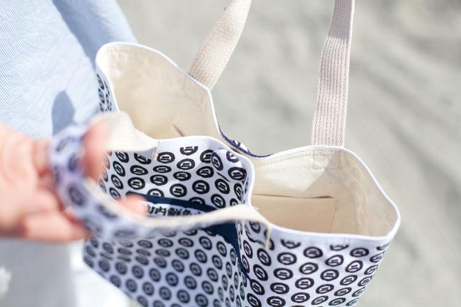 山内鮮魚店マルニ手ぬぐいトートバッグ
