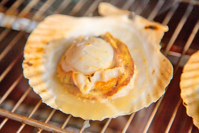 ホタテの美味しい焼き方(その2)〜「強火・9割焼き」で絶妙なプリプリ食感に〜