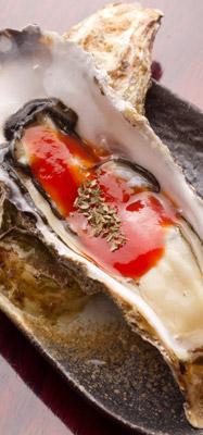 お歳暮海鮮ギフトに同封のレシピ|牡蠣のカクテルソース添え