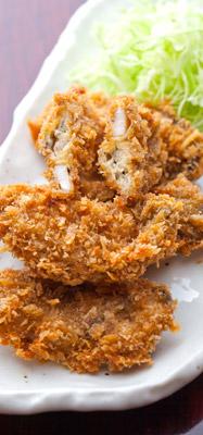 お歳暮海鮮ギフトに同封のレシピ|料亭のカキフライ