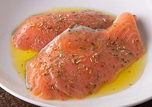 銀鮭 5種のハーブ