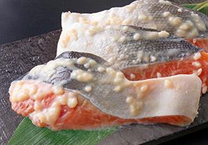 銀鮭二段仕込み 塩麹・酒粕