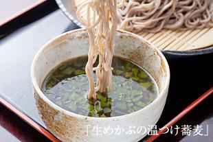 <レシピ>生めかぶの温つけ蕎麦