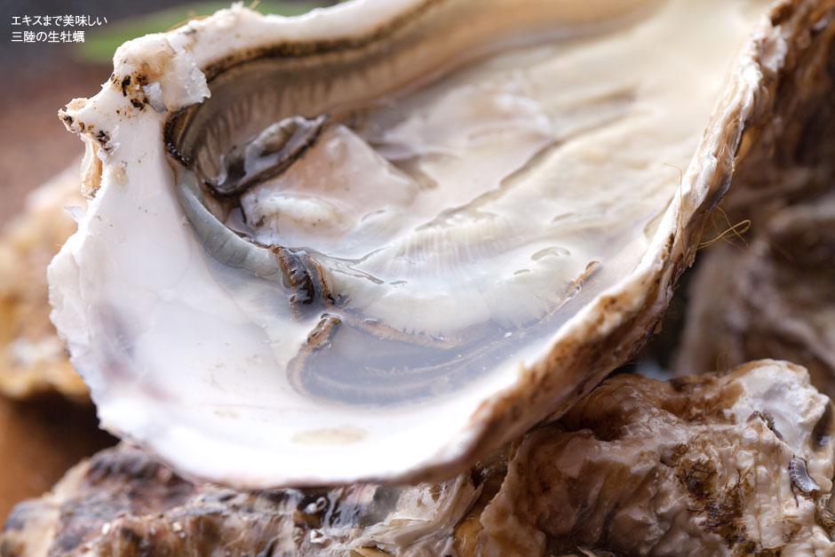 エキスまで美味しい三陸生牡蠣