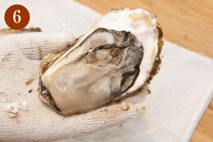 殻付き牡蠣のさばき方