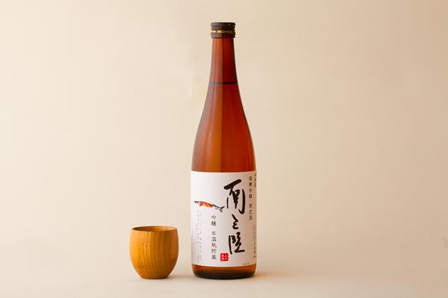 さんま専用日本酒「南三陸 吟醸氷温瓶貯蔵」720ml詰