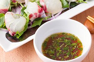レシピ ピクルス液でつくるお刺身用カルパッチョソース