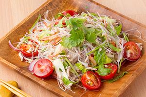 レシピ ピクルス液でつくるヤムウンセン タイ風春雨サラダ