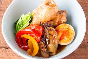レシピ 牡蠣ピクルスと鶏手羽元の煮物