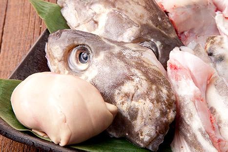 寒鱈のアラ(肝入り)