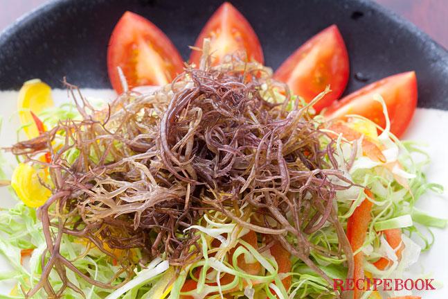 ふのりの海藻サラダ