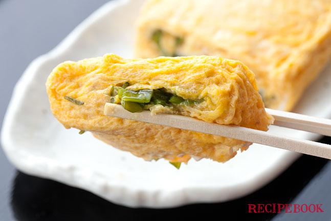 めかぶの卵焼きレシピ