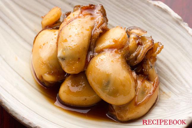 牡蠣の佃煮レシピ