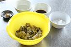 牡蠣の佃煮レシピ1