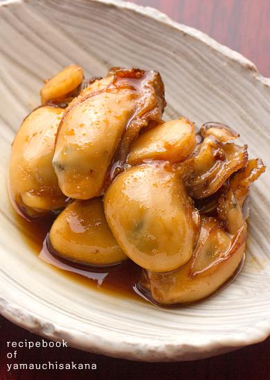 三陸牡蠣(カキ)のぷりぷり甘辛煮レシピ