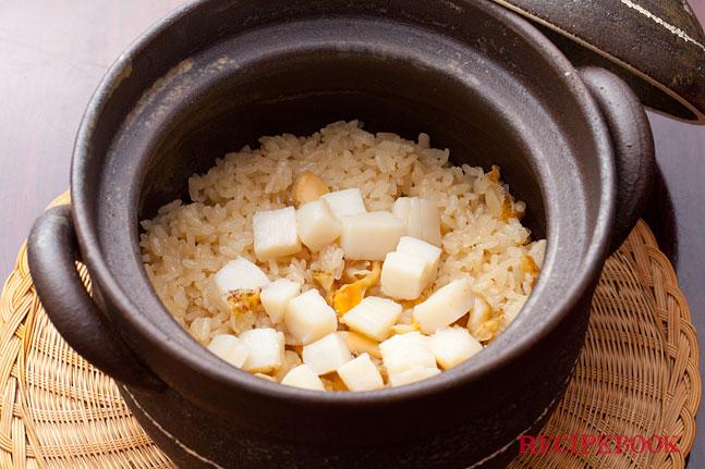 ホタテご飯の作り方