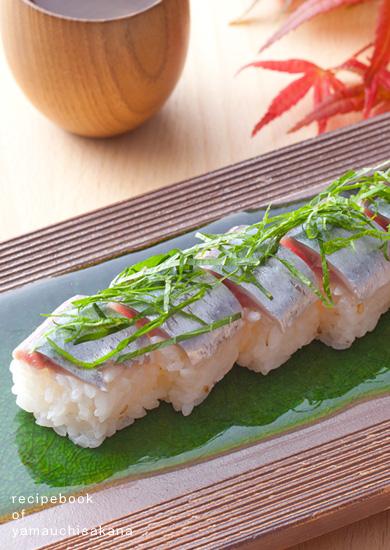 生さんまの棒寿司