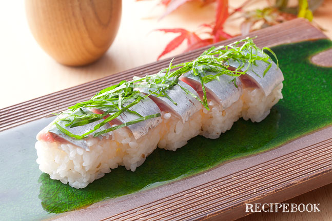 さんま 棒寿司の作り方