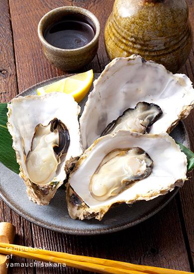 蒸し牡蠣の作り方(電子レンジ編)