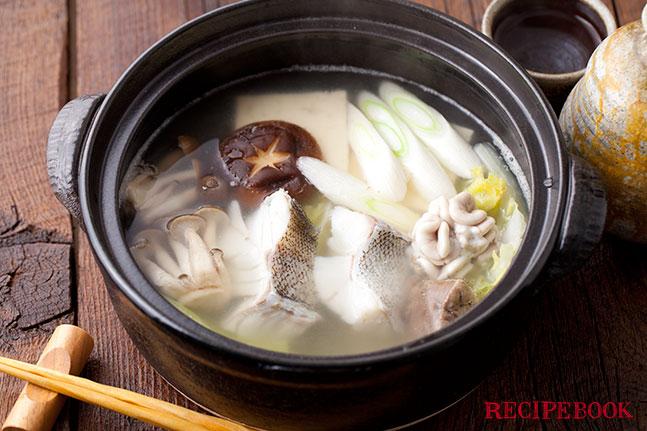 たらちり(鱈鍋)の作り方