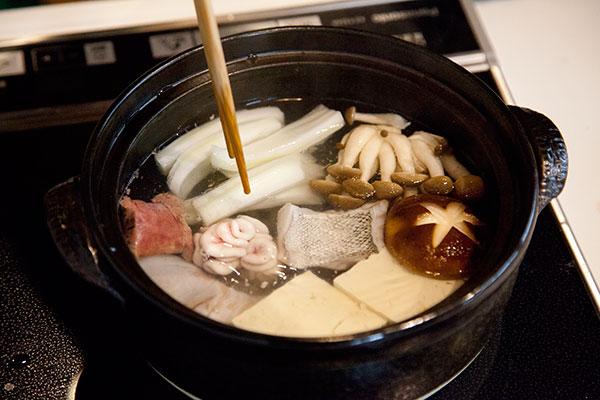 たらちり(鱈鍋)の作り方3