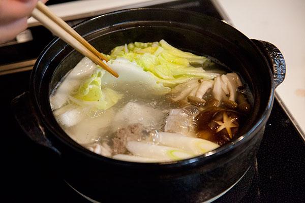 たらちり(鱈鍋)の作り方4