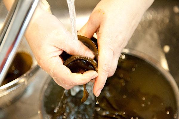 たたきめかぶの作り方・茹で方レシピ1