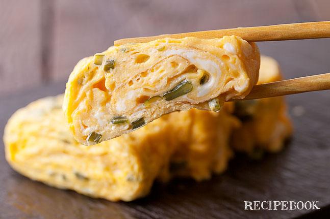 茎わかめの卵焼きレシピ