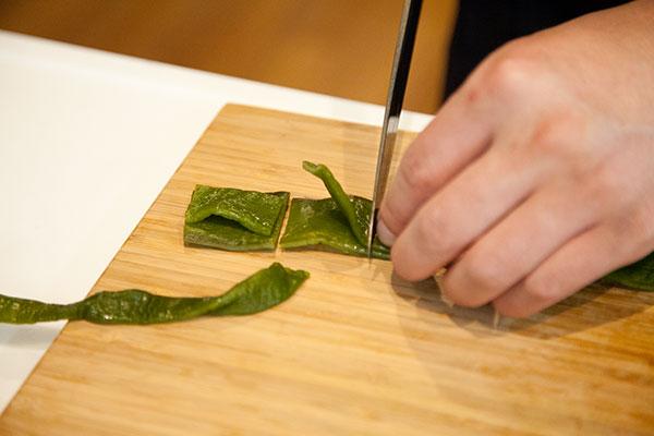 茎わかめの佃煮の作り方1