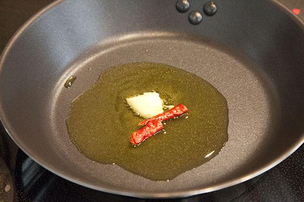 しらすと春野菜のパスタレシピ2