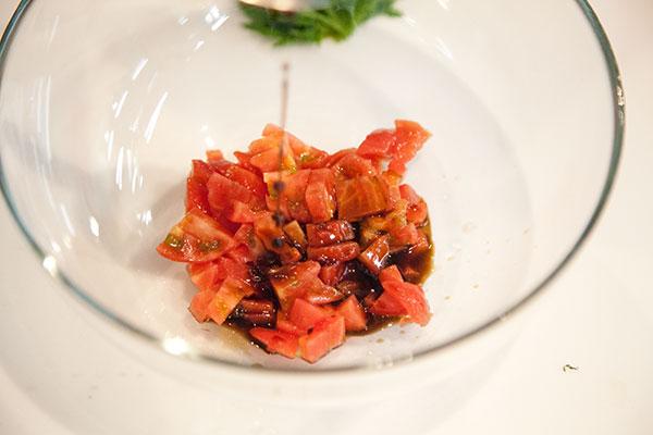 ホヤとトマトの冷製パスタレシピ3