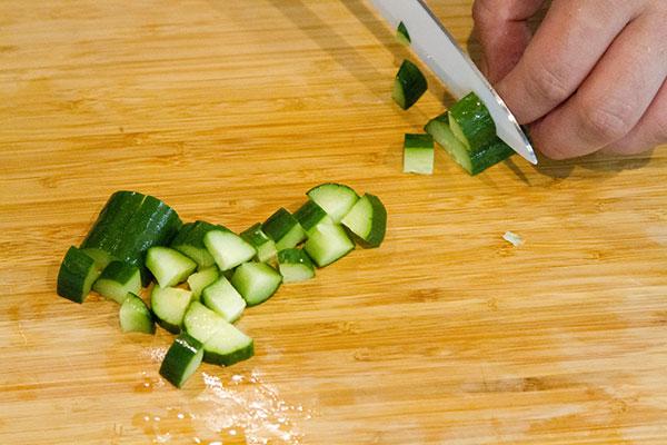 カツオのユッケの作り方2