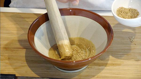 カツオのごま茶漬けレシピ2