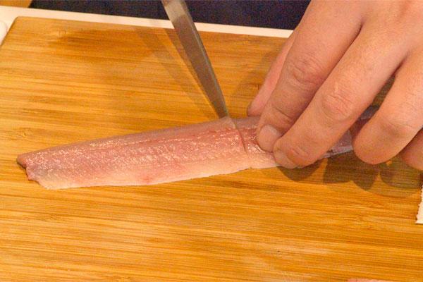 秋刀魚の香り揚げ1