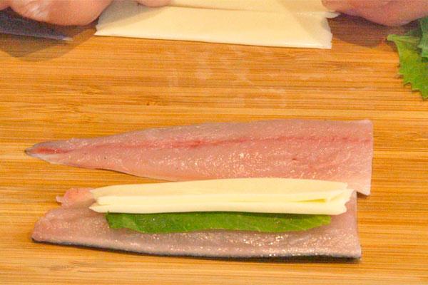 秋刀魚の香り揚げ2