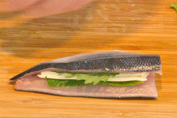 秋刀魚の香り揚げ3