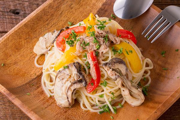 牡蠣ピクルスとツナの冷製パスタレシピ8