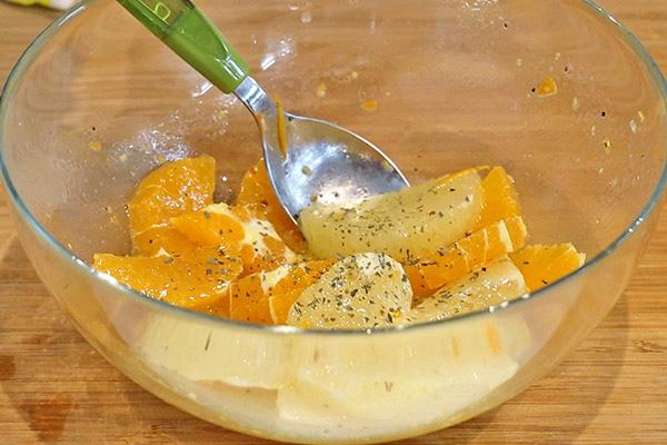 タコと柑橘類のカルパッチョ レシピ4
