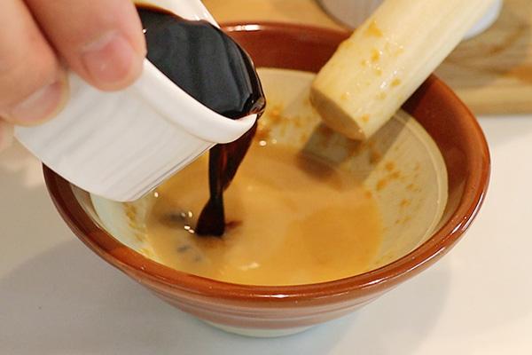 タコ刺身 薬味 いり酒レシピ3