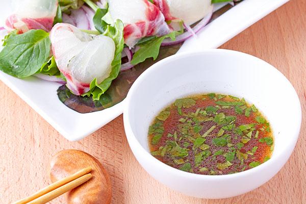 ピクルス液で作るカルパッチョソースレシピ6
