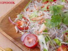 ピクルス液を使ったヤムウンセン(タイ風春雨サラダ)