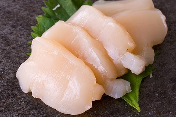 ホタテ刺身 切り方レシピ2
