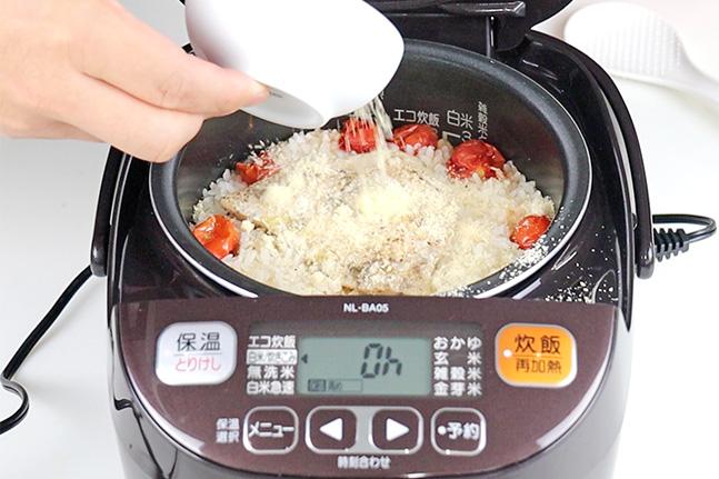リゾット風炊き込みご飯 レシピ