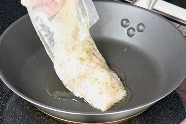 フライパン干物 焼き方